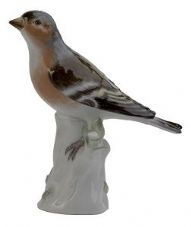 Meissen Porcelain Bird Figurine - Chaffinch I